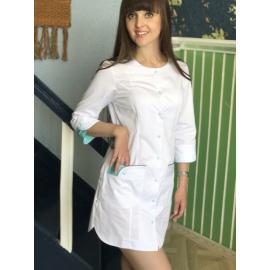 Халат медицинский женский МU4402