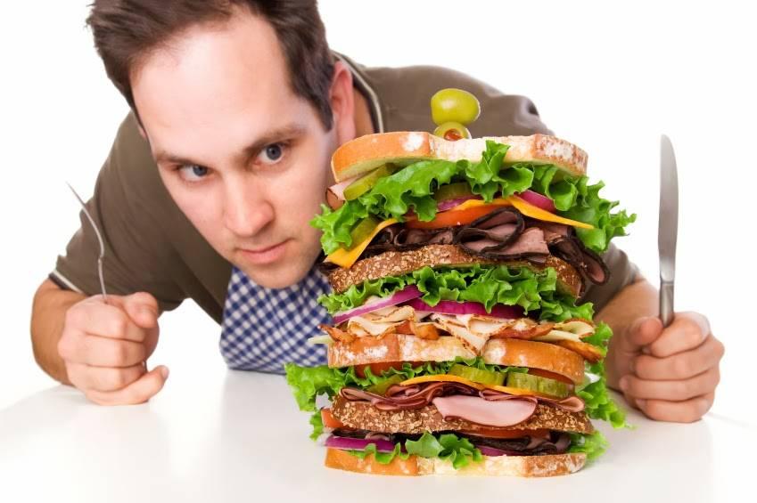 И снова о вреде переедания